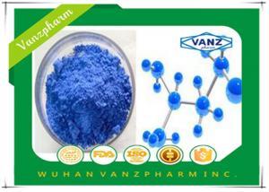 China Endocrine System Drugs Glycyl-L-Histidyl-L-Lysine Copper Peptide CAS 49557-75-7 on sale