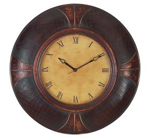 China Leather Travel Clock on sale