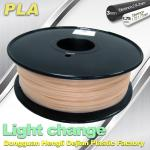 Light Change ABS 3D Printer Filament 1.75mm / 3.0mm Filament For 3D Printing