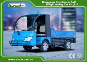 China Blue color Curtis AC controller Trojan battery Electric Utility Vehicle cart on sale