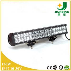 China 22 inch double row offroad led light bar 126w low profile led light bar on sale