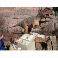 Indoor Playground Equipment of Animatronic Dinosaur, Telecontrol Set for Children to Operate