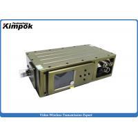 DC 12V COFDM Transmitter H.264 Broadcast Wireless Audio Video Sender AES 265 bit Encryption