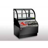 Combined Refrigerated Open Display Merchandiser Cooler 2 in 1 For Coffee Shop Starbucks