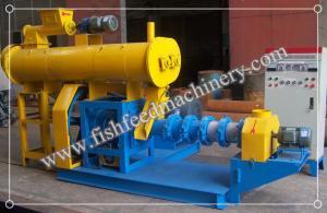 China Le type humide l'extrudeuse d'alimentation de poissons 180-200kg/h FY-DSP60 d'acier allié pour des poissons alimentent la production on sale