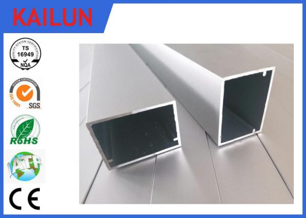 HVAC Systems Aluminium Frame Section Profile , Hollow Extruded ...