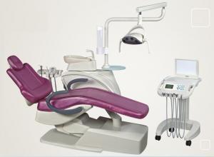 China Adult Children Dental Chair Unit Backrest Seat Synchronized 12months Warranty on sale
