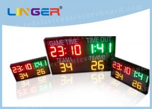 China Three Colors LED Electronic Scoreboard Paintball Hanging / Mounting Installation on sale