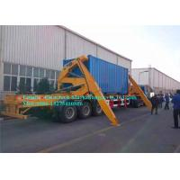 XCMG Cargo Container Lifting Equipment , Side Loader Truck With Hydraulic System