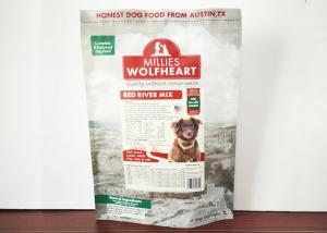 China Color Printing Plastic Standing Pet Food Dag Dog Food Bag Customized on sale