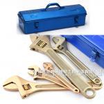 Non sparking adjustable monkey spanner ,screw shift clyburn,spanner,universal hand tools Alcu ,