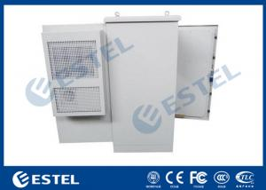 China 27U Air Conditioner Type Energy Saving Outdoor Communication Cabinets With One Front Door and One Rear Door on sale