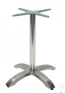 China Anodizing Bar Pedestal metal coffee table base With Aluminum Legs on sale