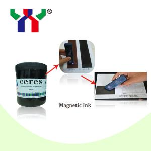 China Grave Printing Magnetic Ink  For VIP Member Card / Credit Card on sale