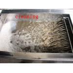 28khz Heater Bath Grease Auto Part Ultrasonic Clearing Machine With Cycling Solvent Device