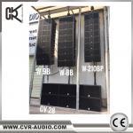 CVR Pro Audio Factory 3-way dual 12 inch line array system 2100 watt big line array system