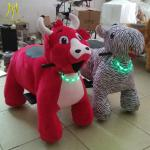 Hansel  entertainment games walking electric machine stuffed electric animal car
