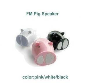 China Desktop Speaker For Computer PC pig shape on sale