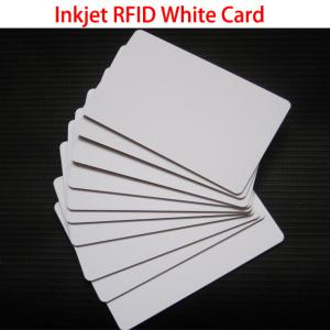 China RFID TK4100 Chip Cards Printable PVC ID Inkjet Card For Access Control Security on sale