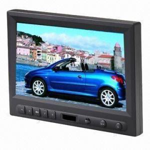 China Touchscreen Car Monitor with AV/VGA/HDMI, 16:9 8-inch, CE/FCC Marks, 450cd/m² Brightness on sale
