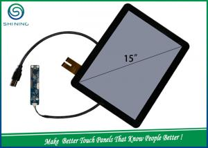 China 15'' 6H 2 Layers COB Capacitive Touch Sensor / Projected Capacitive Touch Panel For Industrial Monitor on sale