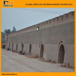 China India clay brick fired kiln automatic coal firing clay brick hoffman kiln on sale