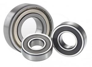 China Chrome Steel Auto Parts Bearings , P0 Grade Oil Deep Groove Ball Bearing 6300 serie on sale