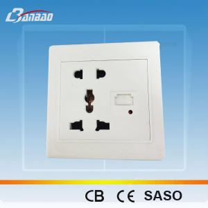 China LK4038 wall socket with USB on sale