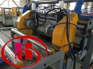 China 新しい状態の木製のプラスチック生産ライン耐久37kwモーター力 on sale
