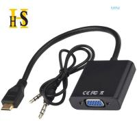 China mini hdmi to vga cable with audio factory wholesale support oem high quality on sale