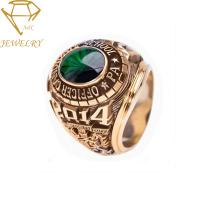 China Graduation High School Customized Class Rings on sale