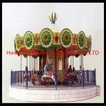 China Anti-Rust Light&Musical Kids Horse Rides----Merry Go Round wholesale