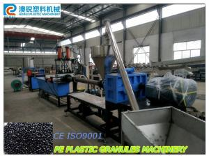 China Single Screw PE / PP Plastic Granules Machine / Recycle Plastic Granules Making Machine on sale