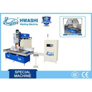 China Three Phase 380 V Bathroom Sink Seam Welding Machine 780x1500x1800mm on sale