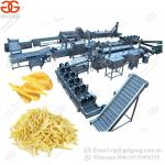 Hot Sale Electric Heating Fully Automatic Potato Chips Production Line