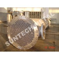 China Shell Tube Heat Exchanger Chemical Process Equipment 1.6MPa - 10Mpa on sale