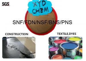 China Adición concreta industrial frecuencia intermedia (C11H7O4SNa) n FDN/SNF/NSF/BNS/PNS del reductor del agua on sale