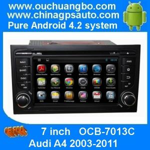 Android 4 2 Car Stereo For Audi A4 2003 2011 With Gps System Radio