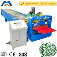China Australia type Roller Shutter Door Roll Forming Machine PPGi GI on sale