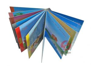 China Die cutting 4C / 4C 157GSM chrome paper English story Custom Childrens Book Printing on sale