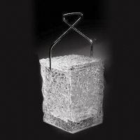 Acrylic Rocks Ice Bucket, Measures 17.00 x 16.50 x 22.50cm