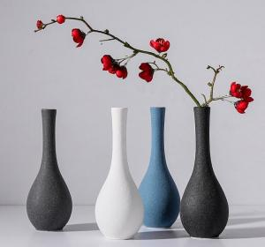 China Customized Home Decor Cheap  Ceramic Flower Vase Modern on sale