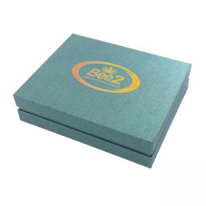 China Hot Stamping Presentation Packaging Boxes Hologram Logo Imprintable 250gsm Paper on sale