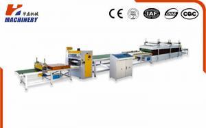 China HF900 Hot Melt Glue Pur Laminating Machine Composite Line 14kw on sale
