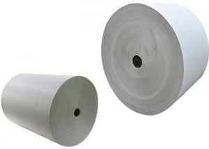 China 300gsm - 650gsm Roll Of Gray Paper Cardboard Roll For Waste Paper Reuse on sale