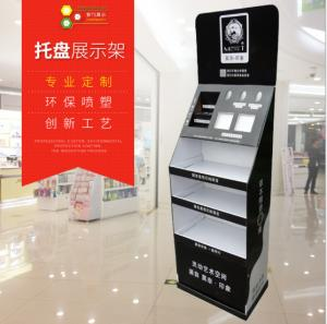 China Floor-standing paper display rack, electronic product mobile phone promotion paper display rack, paper display rack on sale
