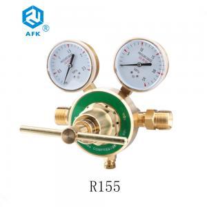 China R155 Brass Pressure Regulator , 3-1/4 Diaphragm Structure Vacuum Regulator Valve on sale