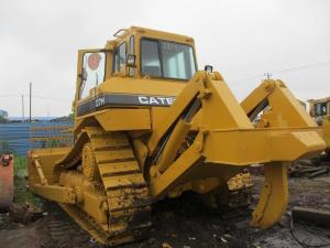 Used CAT D7H Crawler Bulldozer With Ripper / Caterpillar D6D D6G D7G