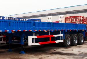 China TITAN tri axles 40 ft container transport semi trailer cargo trailer wall panels on sale