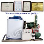 O GV industrial BV do CE do fabricante de gelo certificate